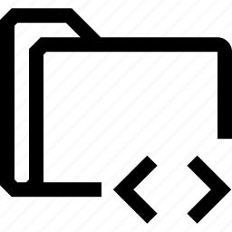code, document, file, folder, inequality icon