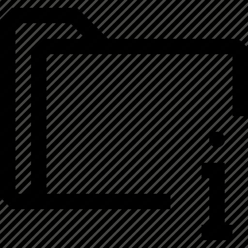 document, file, folder, information, letter icon