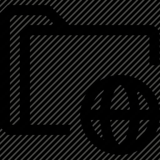 document, file, folder, globe, internet icon
