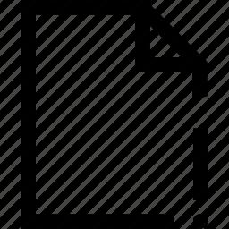 document, exclamation mark, file, folder icon