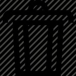 delete, empty, trash, trashbin icon