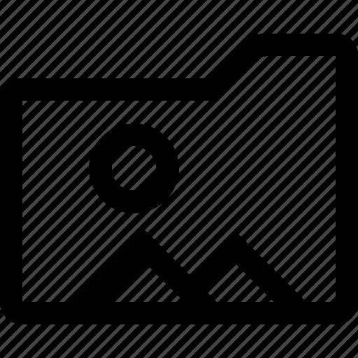 document, file, folder, image, photo icon