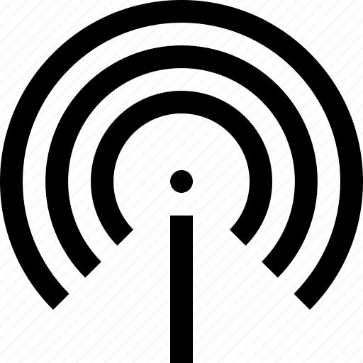 antenna, internet, network, signal, wifi, wireless icon