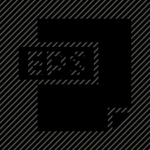 doctype, eps, file, filetype, mime, mimetype, postscript icon