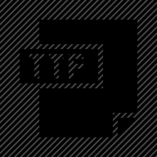 doctype, filetype, mime, mimetype, truetype, ttf icon