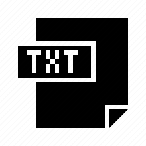 doctype, filetype, mime, mimetype, text, txt icon