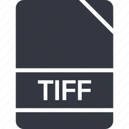 extension, file, name, tiff icon