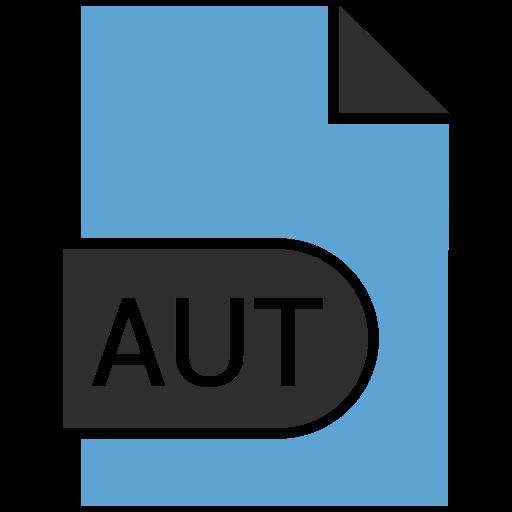 aut, doc, document, file icon