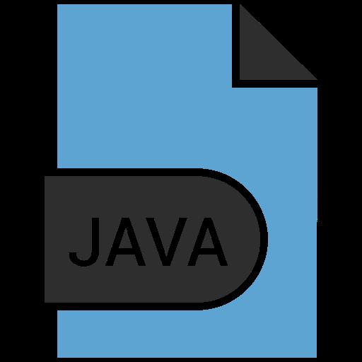 coding, extension, file, java icon