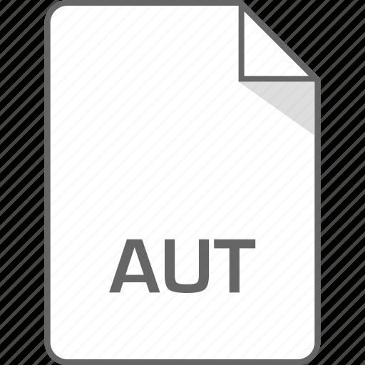 aut, document, file, page icon