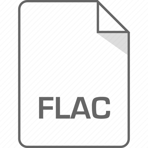 document, file, flac, page icon