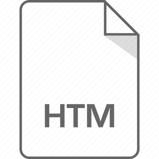 document, file, htm, page icon