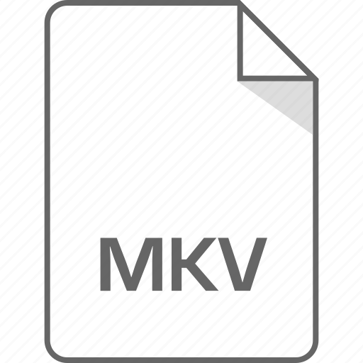 document, file, mkv, page icon