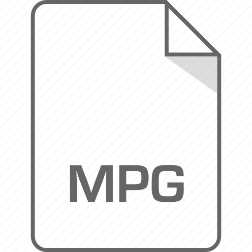 extension, file, mpg icon