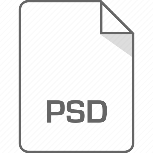 document, file, page, psd icon