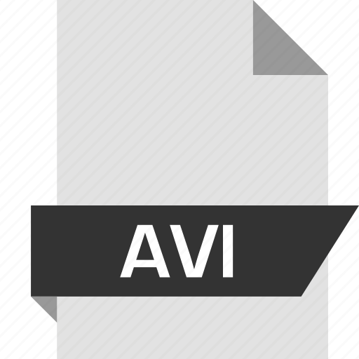 avi, extension, file, page icon