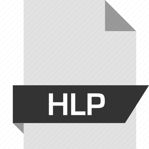 file, help, hlp, page icon