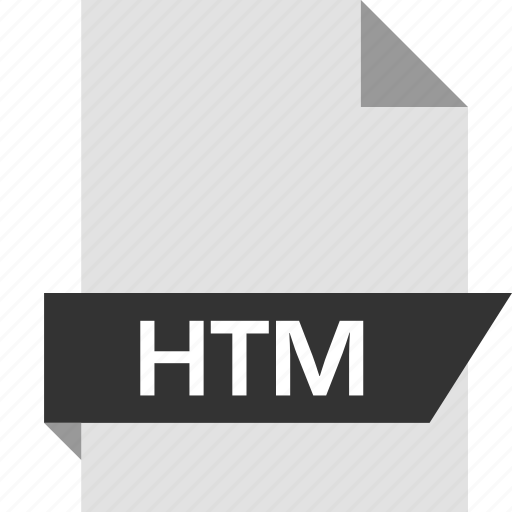 extension, htm, page icon