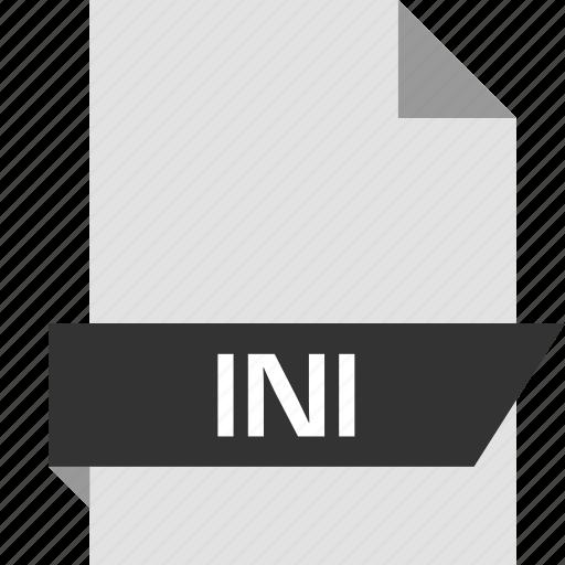 file, ini, page icon
