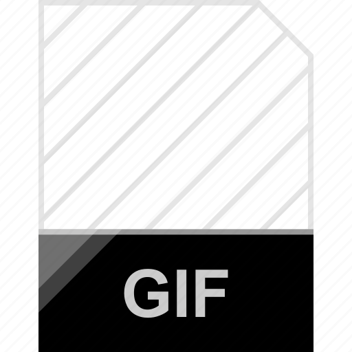 extension, file, gif, page icon