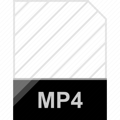extension, file, mp4 icon