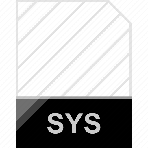 extension, file, sys icon