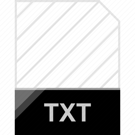 extension, file, txt icon