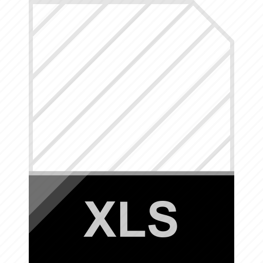 extension, file, page, xls icon