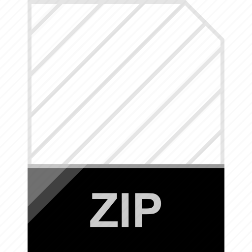 extension, file, page, zip icon