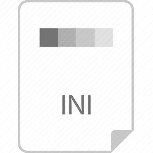 extension, file, ini, page icon