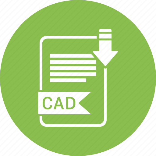 cad, document, extension, file, format, paper, type icon