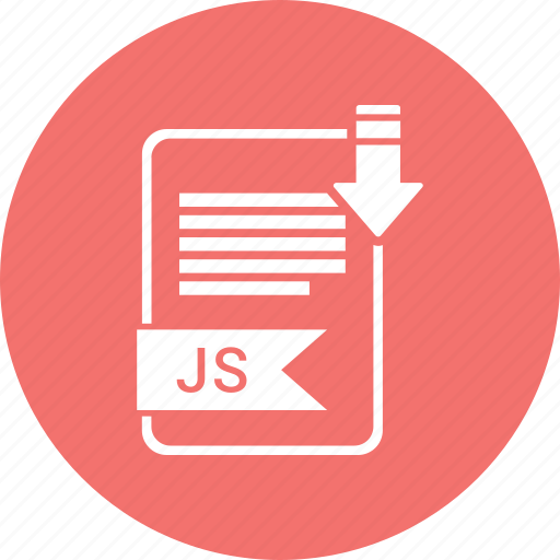 file, format, js icon