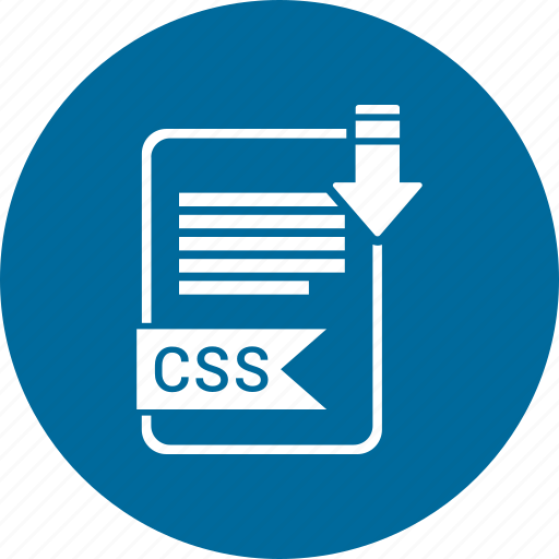 css, file, format icon
