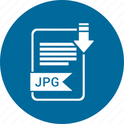 extensiom, file, file format, jpg icon