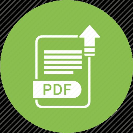 document, extension, folder, format, paper, pdf icon