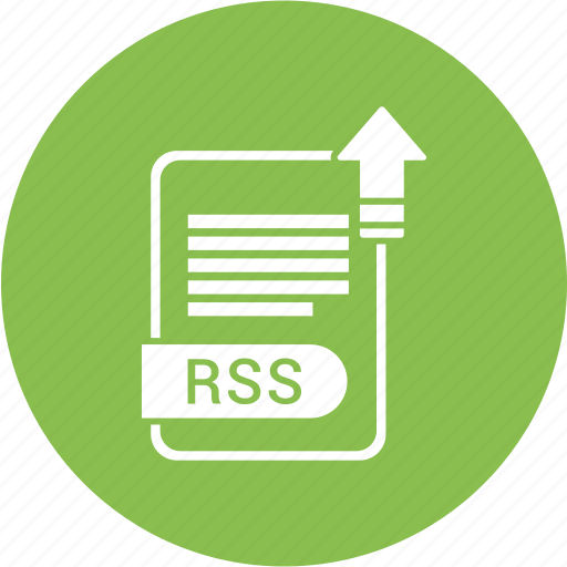 extensiom, file, file format, rss icon