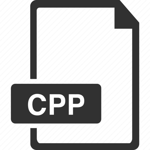 cpp, document, extension, file icon