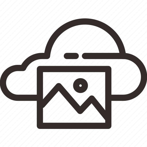 cloud, drive, file, hard, hardisk, picture, storage icon