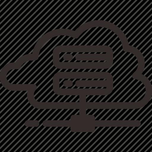 cloud, drive, file, hard, hardisk, server, storage icon