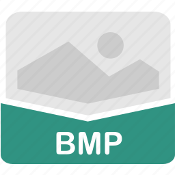 bitmap, bmp, extension, file, format icon