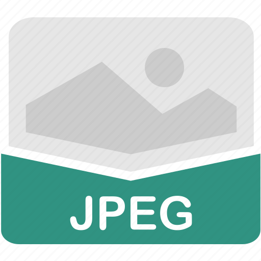 extension, file, format, jpeg icon
