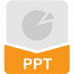 extension, file, format, powerpoint, ppt, presentation icon