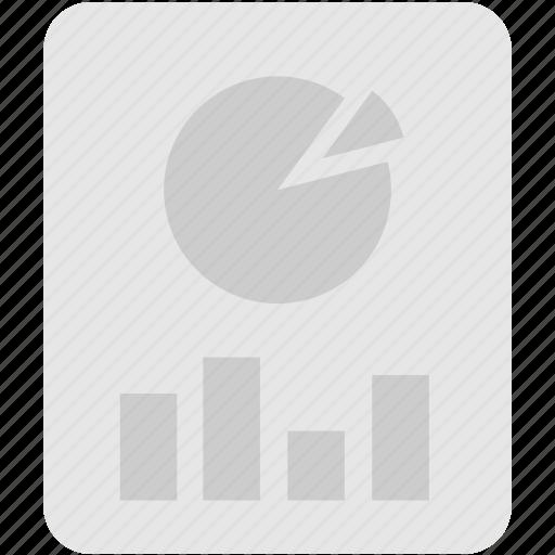 extension, file, format, presentation icon