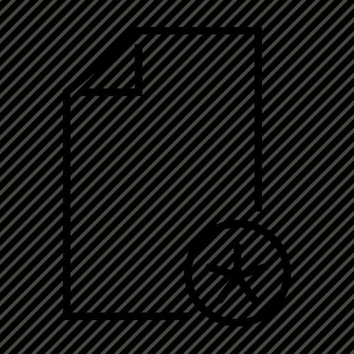 asterisk, document, favourite, file, mark icon