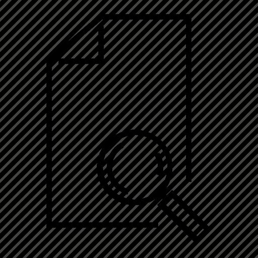 data search, document search, file, file search, search icon