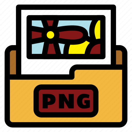 color, extension, filetype, format, image, image file, png file icon