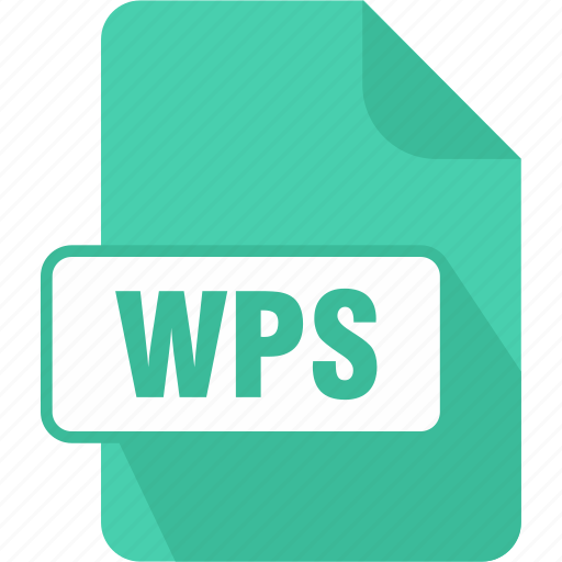 documents, extension, file, microsoft works word processor document, type, wps icon