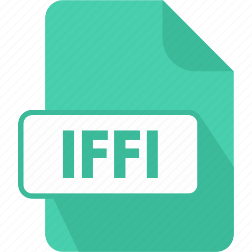 documents, extension, file, iffi, paper, shape, type icon