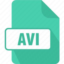 audio video interleave file, avi, extension, file, format, movie, video icon
