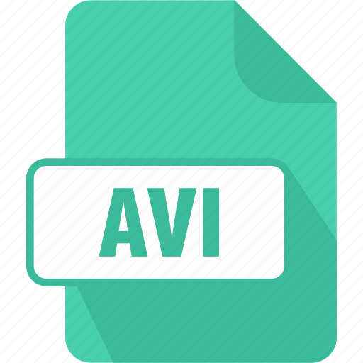 audio video interleave file, avi, extension, file, format, movie, video icon